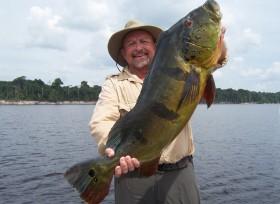 Amazon Peacock Bass fishing