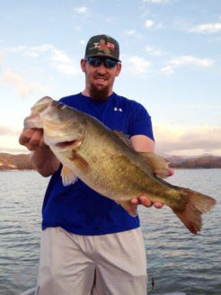Where to catch big bass in Mexico
