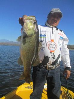 Ric Younkin bass fishing in Mexico