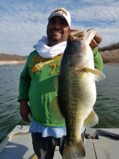 Trophy bass fishing in Mexico