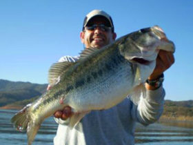 Most popular bass fishing lake in the world