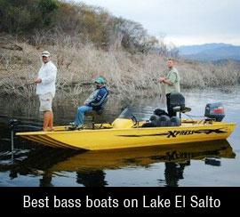 Best bass boats on El Salto