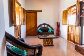 Modern accommodations at Lake Picachos fishing lodge