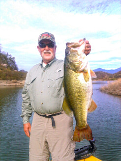 Steve Parks with his 12lb Comedero Giant