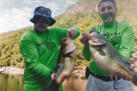 Traxel clients with 2 Nice Huites Bass